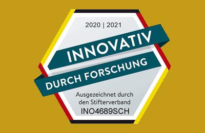 Innovativ durch Forschung Auszeichnung für die INOQ GmbH
