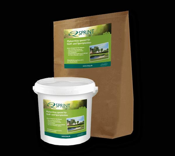 Mykorrhiza Pilze Produkt von INOQ für Rasen